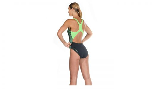 HEAD Training Swim Wear in Green & Black