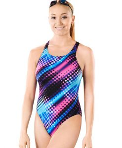 Polka Pacer Vault Back - 4618 - Training Swimwear