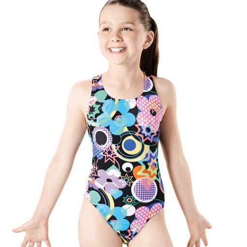 Party Pacer Rave Back- GS4638 -Youth Swimsuit