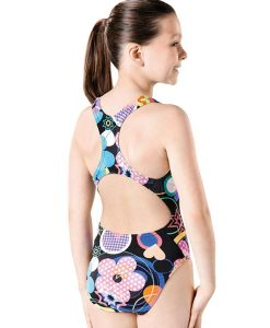 Party Pacer Rave Back- GS4638 -Youth Swimsuit Back