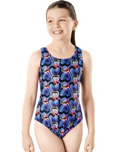 Flex Apollo Back - GS4644 Youth Training Swimsuit