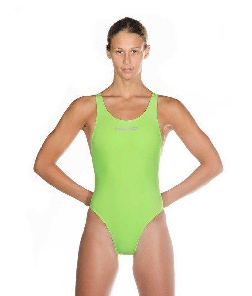 Green HEAD Liquid Power Women's racing swimsuit