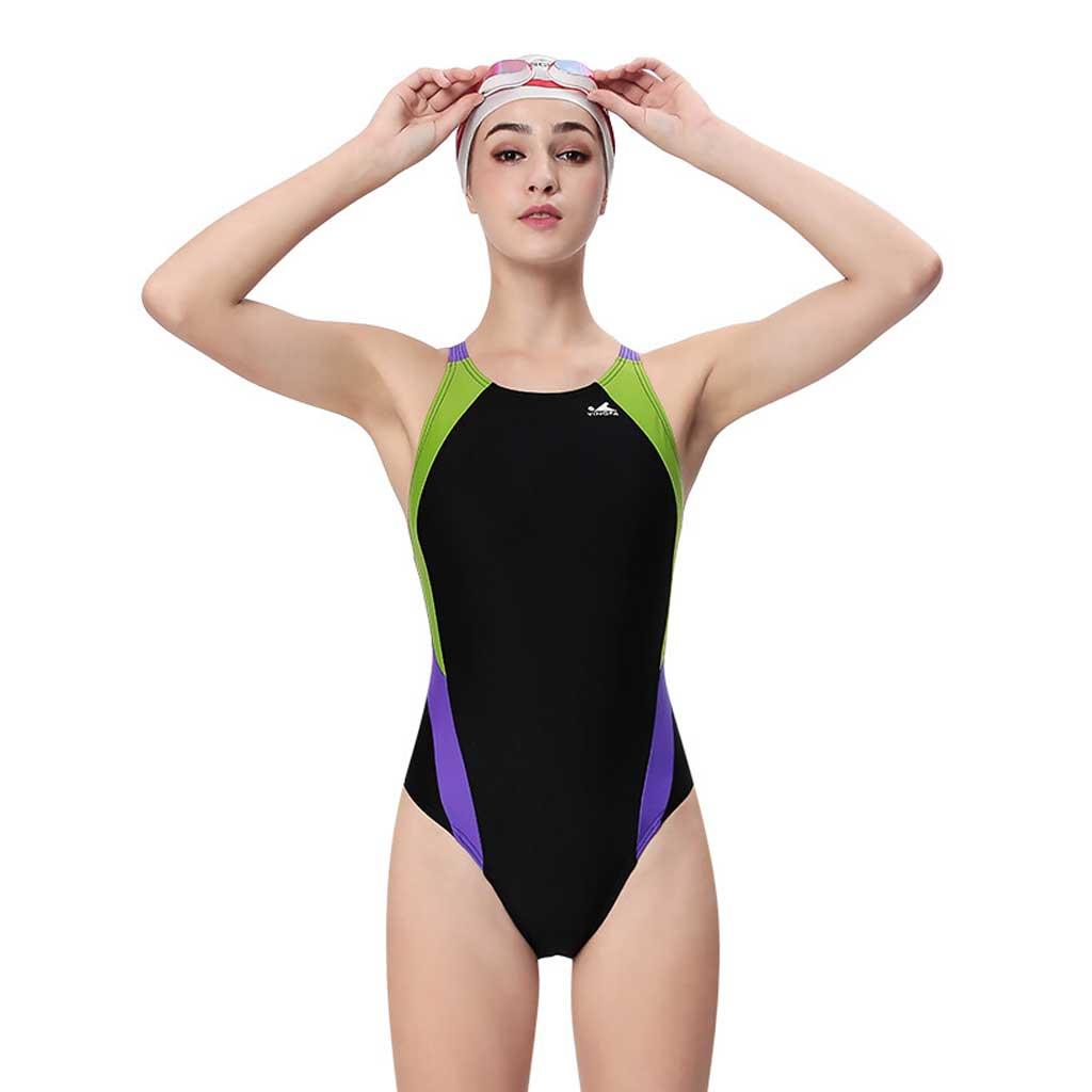 e917bef0e6302 Yingfa Womens One Piece Swimsuit 976-1 - Athletes Choice