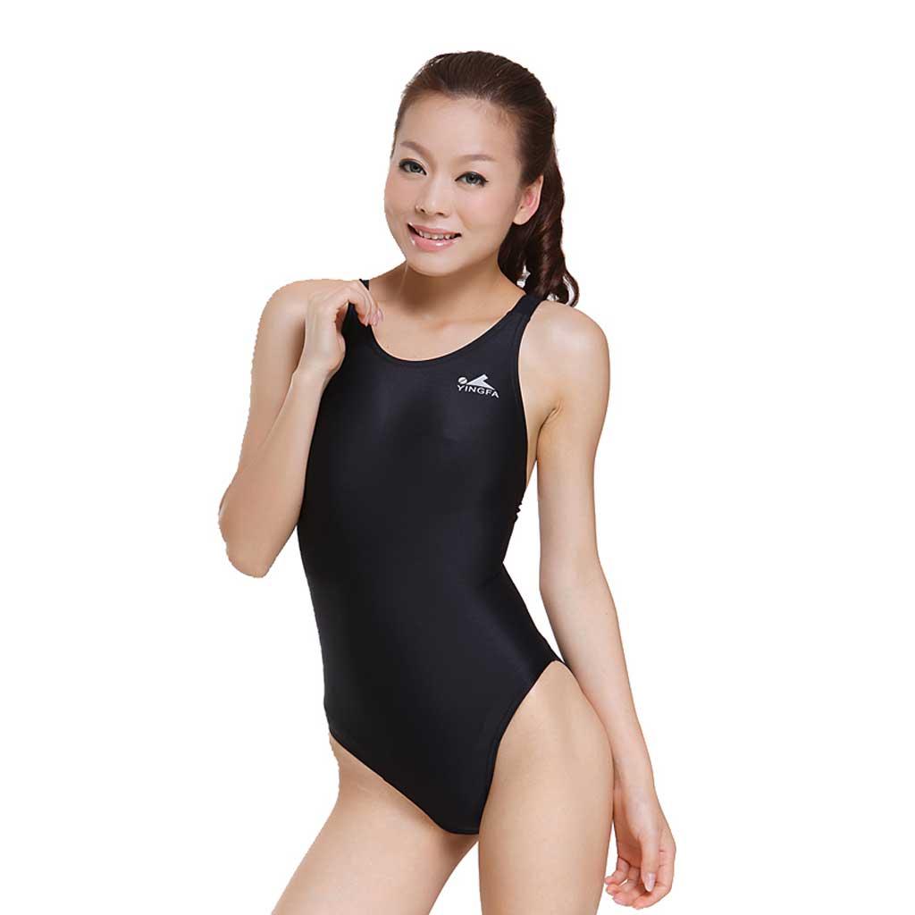 2872e182dbf Yingfa One Piece Swimsuit 938-1 Black - Athletes Choice