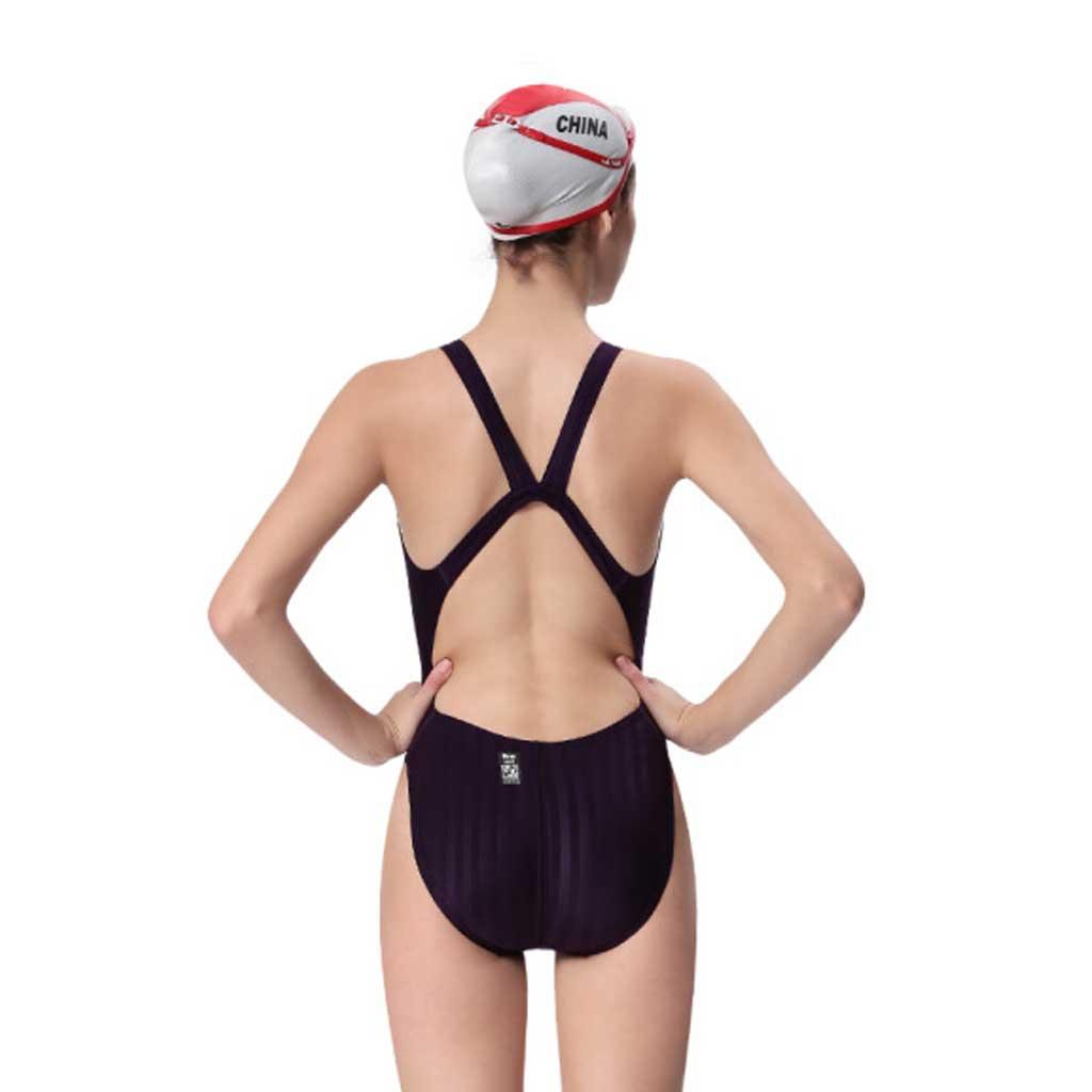 7a6d5cf05d0 Yingfa One-Piece Swimsuit 982-4 Purple - Athletes Choice