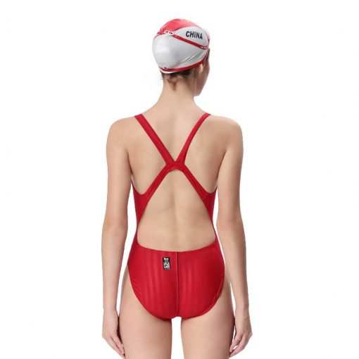 Yingfa One Piece Swimsuit 982-5 Red